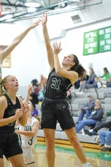 Madison's Chesney Davis leads the Lady Rams into a rivalry battle with Mansfield Senior on Saturday.