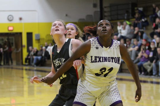 Lexington's Avery Coleman is tasked with carrying the offensive load until Gabby Stover returns from knee surgery.
