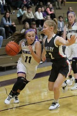 Lexington's Madi Basilone has Lady Lex as the No. 4 team in the Richland County Girls Basketball Power Poll.