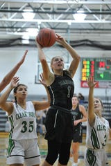 Madison's Kari Eckenwiler has the Lady Rams at No. 5 in the Richland County Girls Basketball Power Poll.
