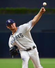 Eric Lauer went 14-17 with a 4.40 ERA in two seasons with the Padres.