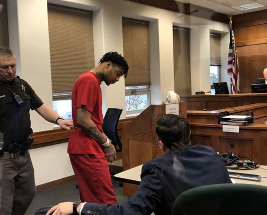 Amani Swanel Tobias Smith on Nov. 27 made his initial court appearance on arson and first-degree homicide charges in connection with a fatal Waukesha house fire.