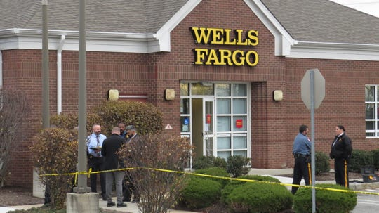 Wells Fargo Bank in Boonton was closed Wednesday afternoon as investigators responded to the scene. Nov. 27, 2019