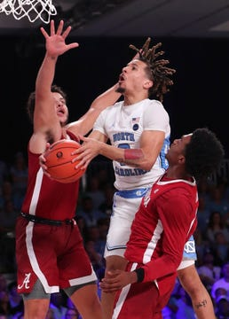 North Carolina's freshman point guard, Cole Anthony is projected to be a lottery pick in the 2020 NBA Draft. (Photo: Kevin Jairaj/USA Today Sports via Montgomery Advertiser.)