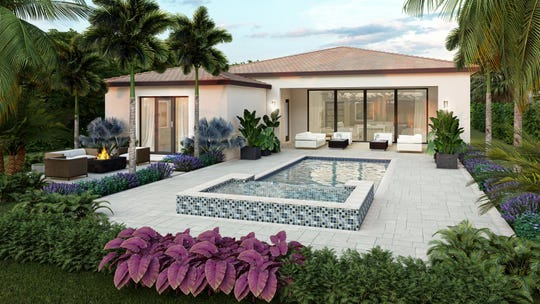 London Bay Homes' new coastal inspired home design choices in the Lucarno and Cabreo at Mediterra are priced from the high-$800s.