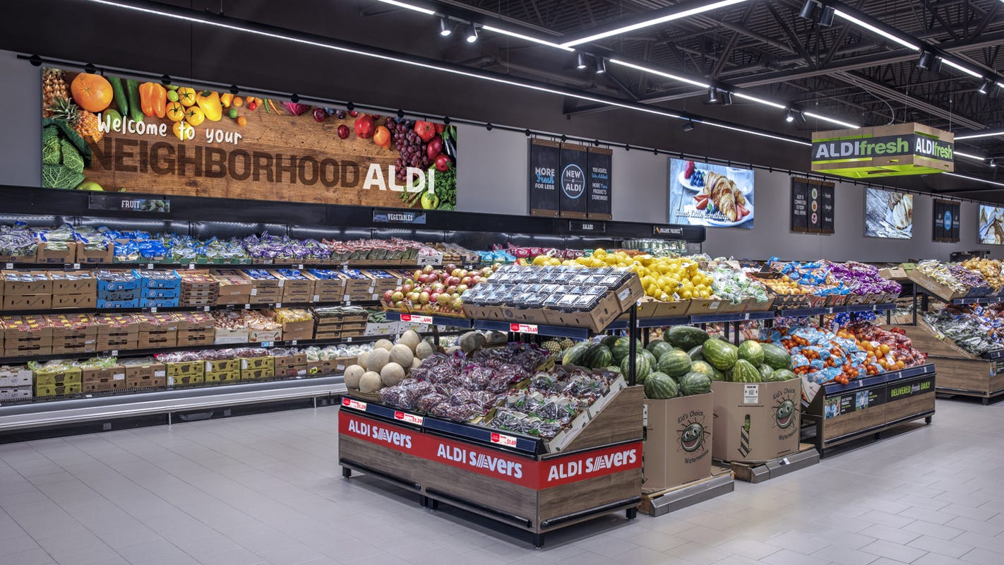 Bergenfield Nj New Home To Competing Aldi And Lidl Grocery Stores
