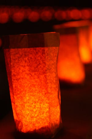 More than 7,250 luminarias will light up the NMSU campus.