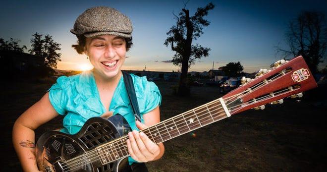 Singer and guitarist Albanie Falletta