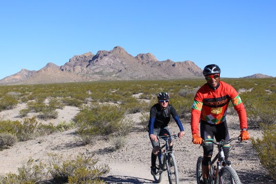 Mountain biking is a popular pastime in the Doña Ana Mountains, providing challenging and scenic trails.