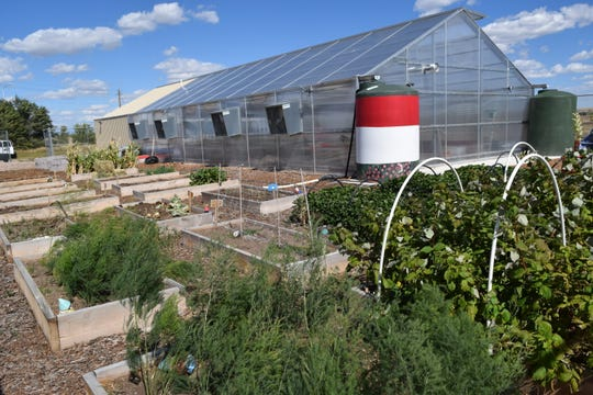 New Mexico State University's Extension and Research Youth Agricultural Science Center at Las Vegas City Schools.
