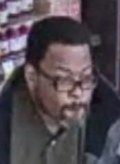 Bloomfield Township police are trying to identify this man, whom they say left the Kroger store on Telegraph Road without paying for a cart full of food.