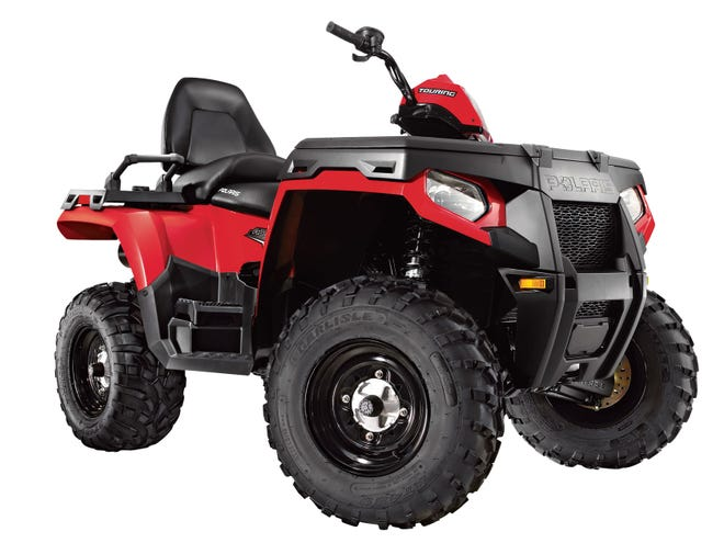 A 2000 Polaris 500 similar to this carried two teens who were killed in a collision Tuesday night in Mecca.