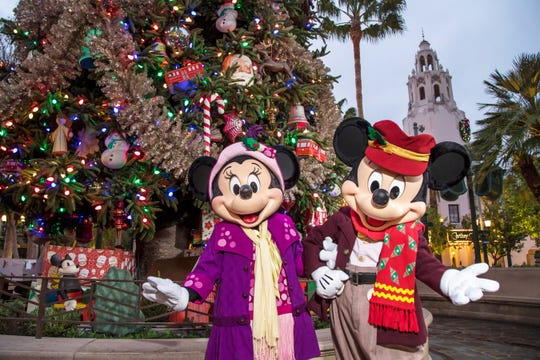 The Disneyland Resort transforms into the Merriest Place on Earth for the holiday season through Jan. 6, 2020. Guests can enjoy snowfall on Main Street, U.S.A., to glistening décor, Disney-themed treats and merchandise, holiday entertainment and transformations that create It's a Small World Holiday and Haunted Mansion Holiday.