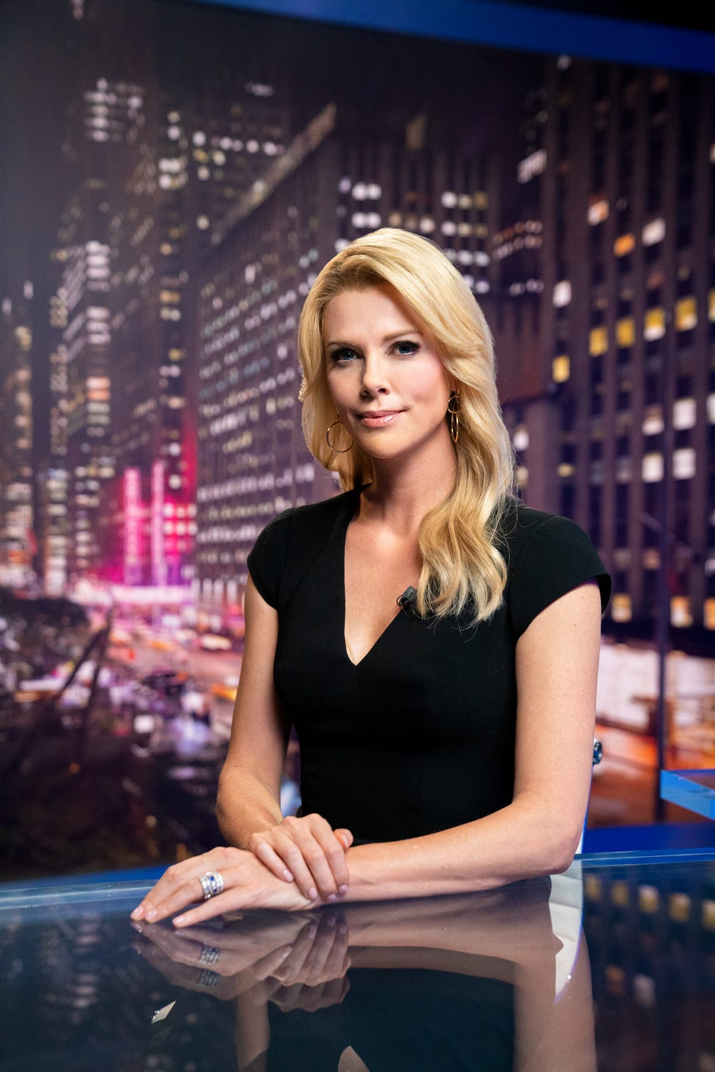 "Charlize Theron stars as Fox News anchor Megyn Kelly in ""Bombshell."""