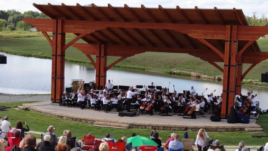 The future downtown Milton amphitheater could look like this one in Kentucky.