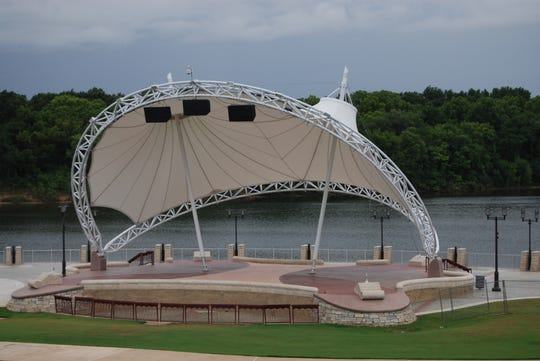 A potential Milton amphitheater could be modeled after one like this, which is in Montgomery, Alabama.