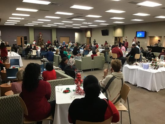 The 2018 Holiday Experience packed the room at the PSC Warrington Campus.