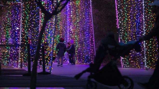 Phoenix Christmas Lights 2020 Review How to get the most out of Phoenix ZooLights in 2019