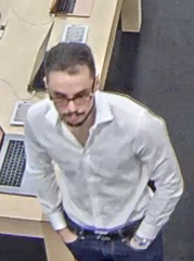 Suspect sought in connection with Phoenix-area fitness center burglaries