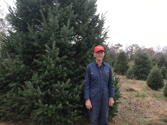 Galen and Clara May have been in the Christmas tree business since 1984. Now the couple grows over 30,000 trees between their farms in St. Thomas and Bedford County.