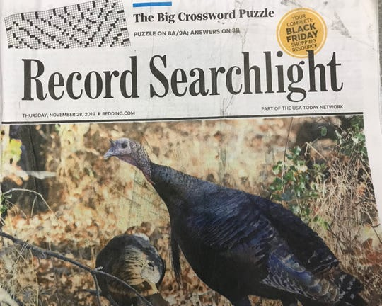Hot off the presses! The Record Searchlight's coveted Black Friday edition just came out today, Nov. 27, 2019.