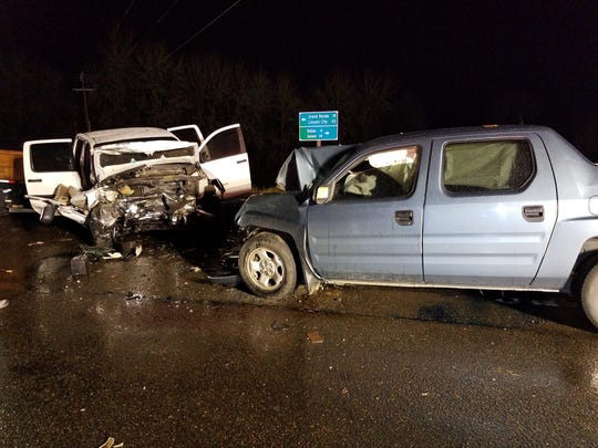 A Willamina man died Tuesday evening in a two-vehicle crash on Highway 22 near Perrydale Road in Polk County.