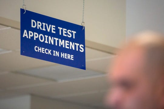 The California Department of Motor Vehicles will resume administering behind-the-wheel drive tests beginning Friday.