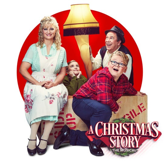 A Christmas Story - The Musical is back by popular demand Dec. 19-29 at the Elsinors Theatre.