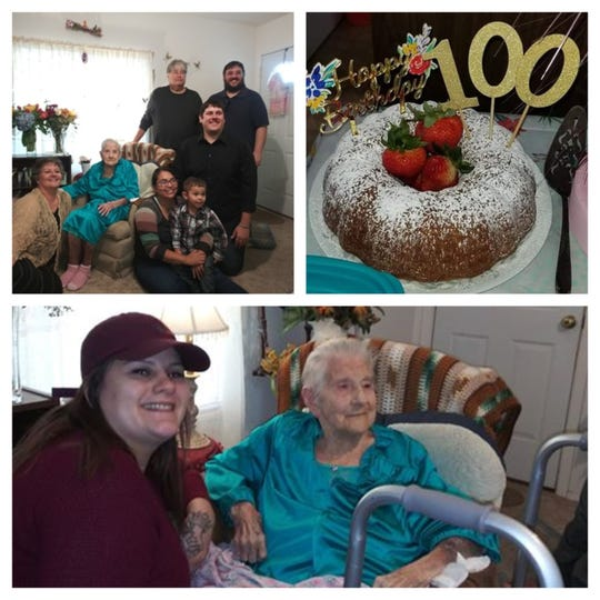 Family members of San Angelo's Odessa Clements were on hand to help celebrate her centennial birthday on Nov. 24, as her daughters, granddaughters and a few cousins gathered to enjoy some cake and a lovely visit. According to her daughter, Cynthia Owens Ray, one relative hadn't been seen in years, and  got to introduce his wife to everyone.