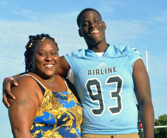 Airline's Triveon Wilkins will lead the Vikings against Acadiana Friday night.