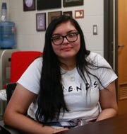 High school junior Trudy Williams has attended St. Joseph's Indian School for four years after switching school districts four times. She said the support and encouragement offered by St. Joseph's staff have helped inspire her to become a member of clubs and work for Chamberlain High School's newspaper.
