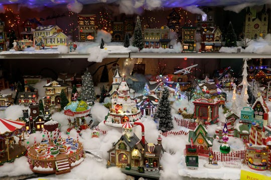 Esposito's elaborate holiday collection is on display now.