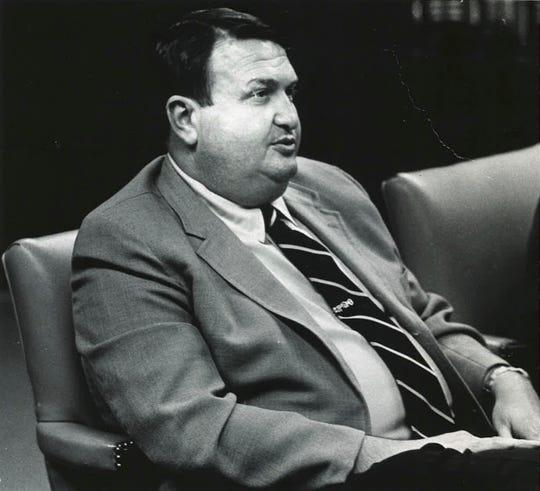 Former Mayor of Tallahassee Lee Everhart on Feb. 2, 1972.