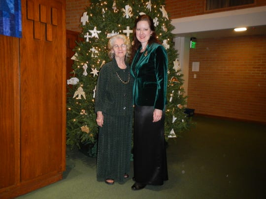 "This year's music director Lisa M. Foltz, right, will conduct the ""Sing-Along Messiah and soprana Doris Pollock will sing."