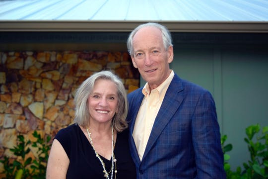 Linda and Mike Evans are co-chairs of the Volunteers in Medicine Clinic's 2020 Gala, scheduled for Jan. 25 at Mariner Sands Country Club, Stuart.