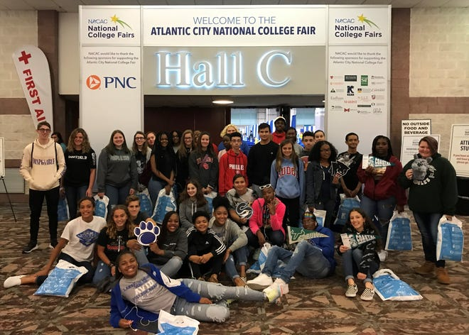 ATLANTIC CITY - AVID students from Memorial High School in Millville attended the Atlantic City College Fair sponsored by National Association for College Admission Counseling in October. For information, visit www.nacacnet.org.