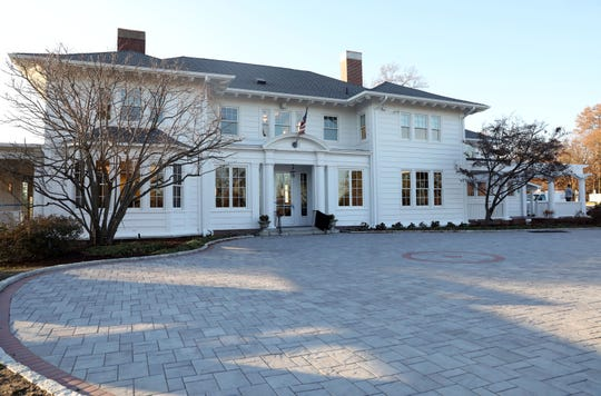 The Crawford Mansion Community Center, which recently underwent a massive renovation, Nov. 26, 2019 in Rye Brook. The updated mansion with an elevator is the latest addition to Crawford Park's grounds which includes a renovated pavilion, playground, and sensory garden.