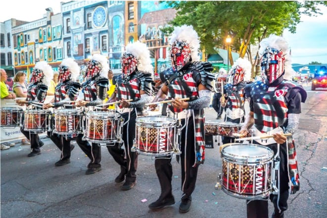 The Saints Brigade Drum and Bugle Corps, from Port Chester, will depart for London on Dec. 27 to participate in the city's annual New Year's Day Parade.