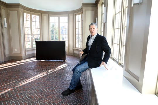 Architect Gary Gianfrancesco in the solarium of the Crawford Mansion Community Center, which recently underwent a massive renovation, Nov. 26, 2019 in Rye Brook. The updated mansion with an elevator is the latest addition to Crawford Park's grounds which includes a renovated pavilion, playground, and sensory garden.