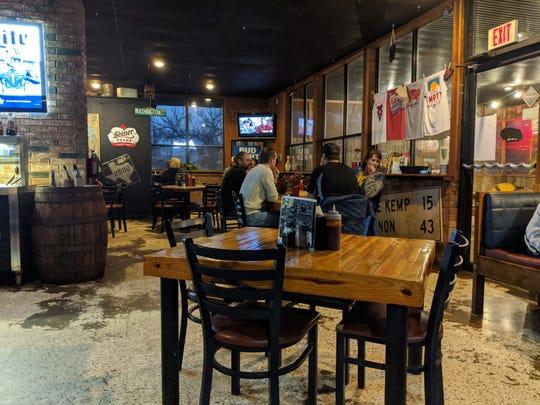 Inside The Big Empty Beer & BBQ.