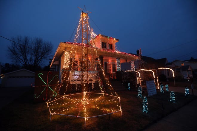For the third year, the Lemmon Brothers, Austin and Brandon, will host a light display at their home on Lindbergh Avenue in Zanesville. The lights are programmed to music.
