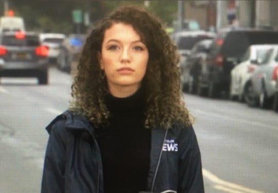 Camalot Todd reporting in Buffalo, New York, in October, 2019