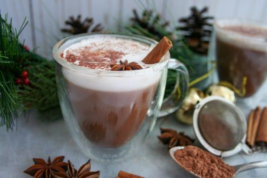 Vegan Mexican hot chocolate recipe & instructions.