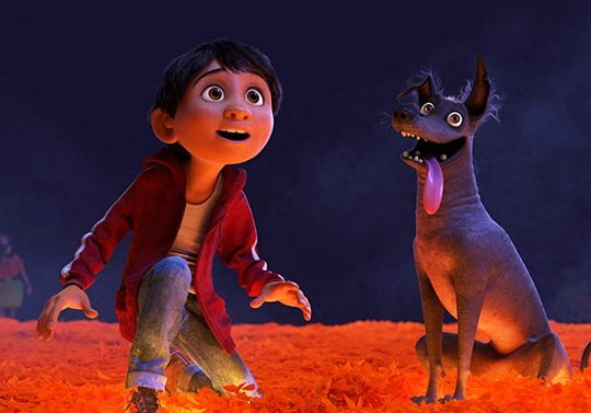 """In """"Coco,"""" Miguel must unlock his real family history to return home."""