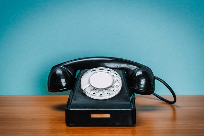 Remember these? Thanks to wireless and cellular technology, there's no more need for landline phones.