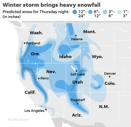 SOURCE ESRI; AccuWeather