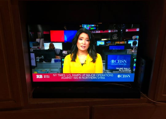 The CBSN free news streaming app offers 24-hour CNN-like programming, with live anchors behind a desk and reporters in the field.