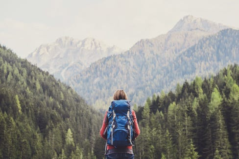 Get a backpack for hiking that won't weigh you down.
