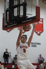 Madison's Grant Whisman led the Mohawks to an SWBL championship in 2019. He averaged 16.5 points per game.