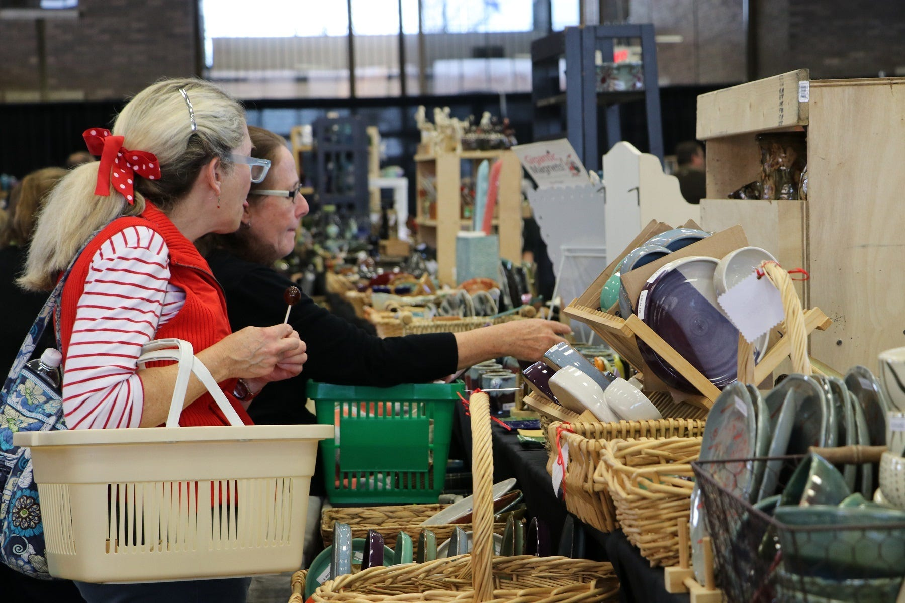 More than 33,000 items were sold at last year's Potters Market.